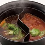 しゃぶしゃぶ温野菜 - 火鍋だし&ラー油だし