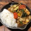 キャンプ エクスプレス - 料理写真:「一日分の野菜カレー」990円