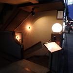 チカノミ - 地階お店への入口