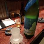 チカノミ - 大山 夏の雪 辛口夏にごり グラス¥750