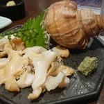 sashimi dining 魚浜 アンド バル - 北寄貝