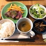 肉バル アンカーグラウンド - 牛ヒレステーキ定食
