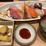 漁師寿司食堂どと~んと日本海 - 寿司10貫 ネギトロのっけ盛りセット