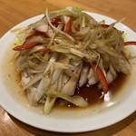 翠葉  - 蒸し鶏の冷菜