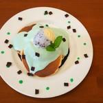 サントノーレ - チョコミントパンケーキ