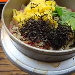 御用鮨 - 裏の人気メニュー 牡蠣釜めし