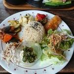 カフェ クウワ - 惣菜プレート