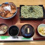 111161116 - 北海道豚丼 そばセット(6枚)