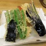 天鈴 - ・「定食(¥800)」のアップ。