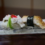 淡路島 さと味 - ☆鱧寿司2種盛り(*^_^*)☆