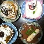 町屋菓子工房 凡蔵 - モンブラン、かぼちゃのモンブラン、ティラミス、いちご大福
