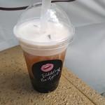 バブルティー スタイル エイト - 鉄観音ミルクチーズティー 550円、ピオカダブル +100円