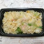 111172465 - 蟹レタス炒飯