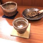 蕎麦工房 膳 - 京都・伏見のお酒「英勲」なめらかな味わい。淡麗辛口のお蕎麦に合うお酒♡