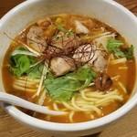 鶏の穴 - ピリ辛 トマトのスープ「旨辛トマト」