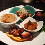 Kitashinchikyouka - 6500円コースの前菜盛り合わせ