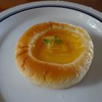 ブーランジェリー ユイ - シークワーサージュレの夏のクリームパン