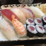 ひら田 - 寿司の全容