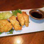 111180599 - 鶏天 辛子醤油