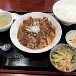 中国料理 凰華 - 四川陳麻婆豆腐ランチ
