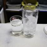 イマナカ酒店 - 焼酎水割り