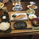 All days cafe - 和定食ドリンク付きで750円(税込)