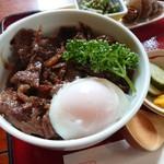 御料理しば田 - 料理写真:牛しぐれ丼