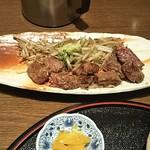 111190556 - サービスランチ(ステーキ肉) 1,069円 ♪