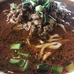 福園 - 黒胡麻坦々麺   アップ