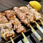 岬 - 宮崎地鶏5本盛り
