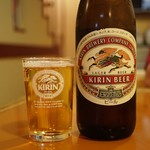 Karakuen - ビールはキリンとアサヒが選べます  キリンはクラッシックラガー