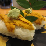 しらき寿し - 料理写真:赤ウニ