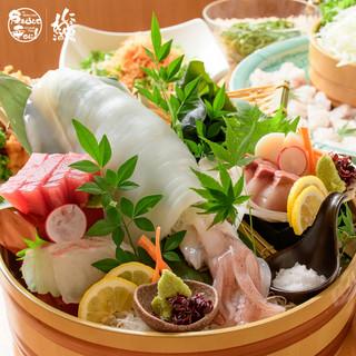 鮮度抜群!毎日仕入れる旬の魚を使用した逸品をご堪能あれ☆