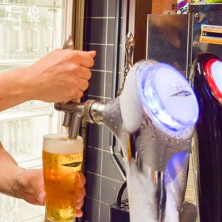 氷点下-2℃の生ビール「エクストラコールド」で元気に乾杯♪