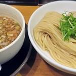 清麺屋 - 料理写真:【鶏もつつけ麺 中 + 熟鮮玉子】¥830 + ¥100