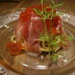 牡蠣とお肉とクラフトビール 菜の雫 - 生ハムのパスタ