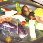 牡蠣とお肉とクラフトビール 菜の雫 - 野菜の盛り合わせ