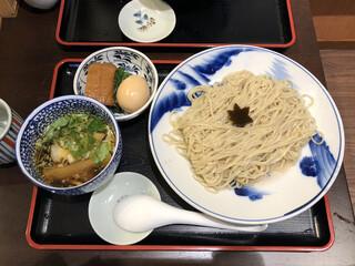 食煅 もみじ - 「特製つけそば」1000円