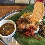月曜スリランカカレー - 料理写真:今日のカレー