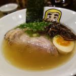 大重食堂 - 基本の温かいラーメン『純らーめん七節』850円。