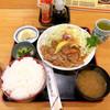 かつ半 - 料理写真:◆しょうが焼き定食 950