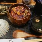 うなぎの中庄 - ひつまぶし、もり盛り?(税込3,564円)