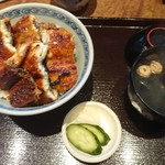 うなぎの中庄 - うな丼、特上(税込3,456円)
