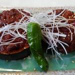 猪苗代四季の里 - 米茄子味噌焼