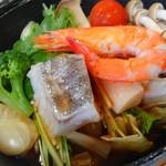 猪苗代四季の里 - 魚介トマト鍋