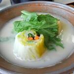 猪苗代四季の里 - 豆腐鍋
