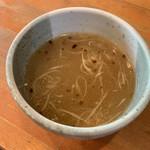 高槻塩元帥 - スープ割り