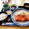 詫間カントリークラブ - 料理写真:ロースカツ定食