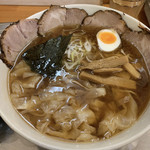 川越大勝軒 - 料理写真:チャーシューワンタン麺  小