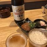 焼肉横山 - ピリ辛イカの塩辛